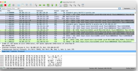 Packet Trace | iPhone Packet Sniffing | How to Record Network Traffic